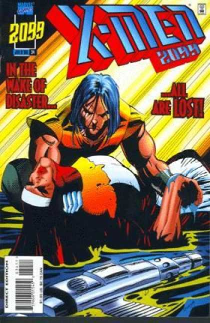 X-Men 2099 34 - 2099 - Disaster - Body - Death - Negative - Jan Duursema, Tom Smith