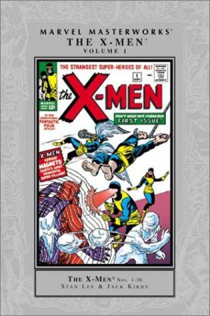 X-Men Books - Marvel Masterworks: The X-Men Vol. 1