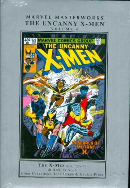 X-Men Books - MARVEL MASTERWORKS UNCANNY X-MEN VOL. 4
