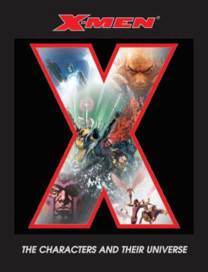 X-Men Books - X-Men: The Characters and Their Universe