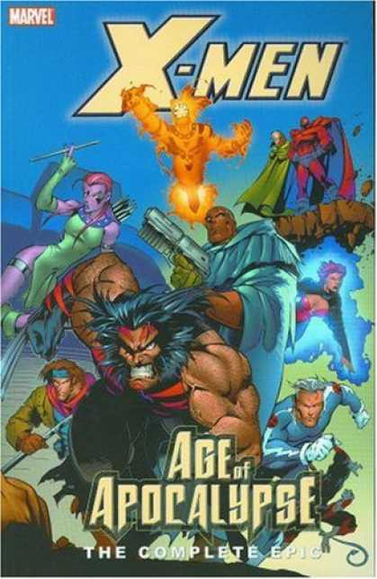 X-Men Books - X-Men: The Complete Age of Apocalypse Epic, Book 2 (Bk. 2)
