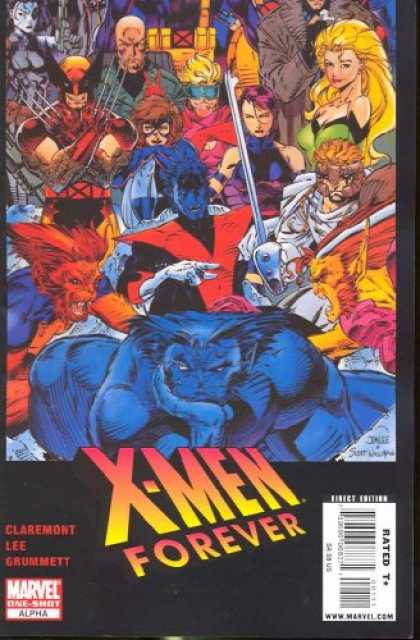 X-Men Books - X-Men Forever Alpha