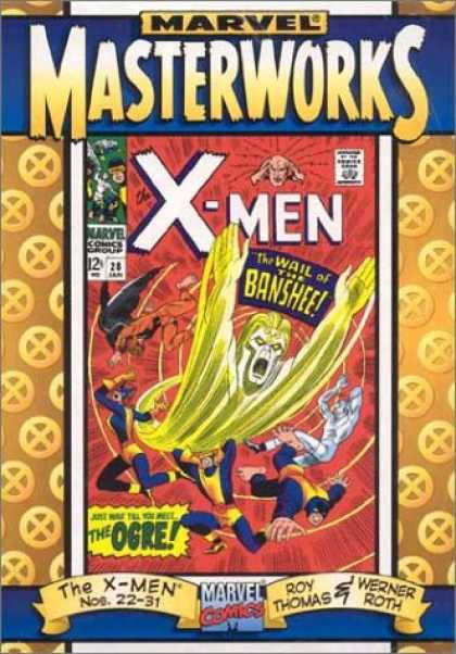 X-Men Books - Marvel Masterworks: The X-Men Vol. 3 (Hardcover) (ComicCraft cover) (2002)
