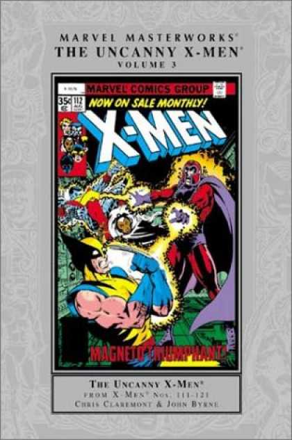 X-Men Books - Marvel Masterworks: The Uncanny X-Men, Vol. 3 (Reprints Uncanny X-men 111-121)