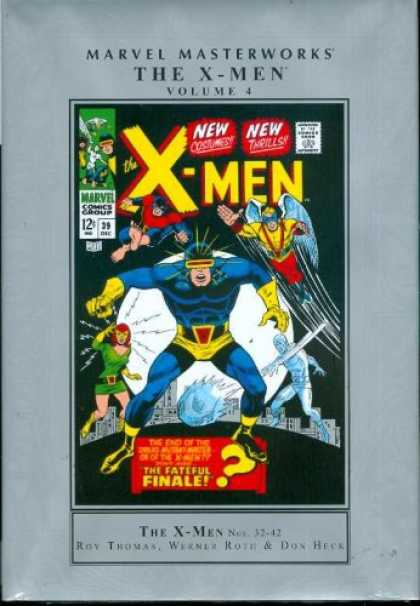 X-Men Books - MARVEL MASTERWORKS X-MEN HC VOL 4
