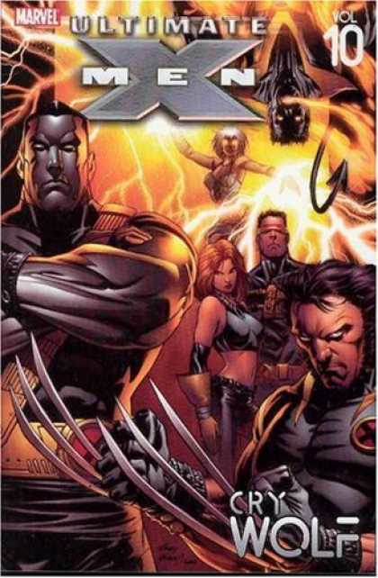 X-Men Books - Ultimate X-Men Vol. 10: Cry Wolf