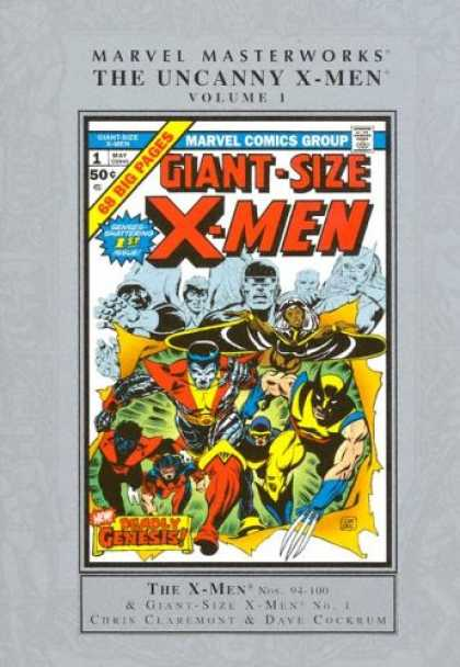 X-Men Books - Marvel Masterworks: Uncanny X-Men, Vol. 1