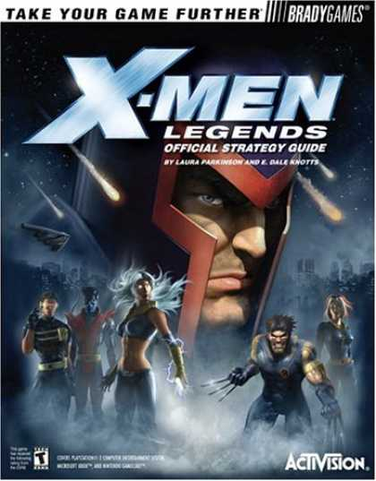 X-Men Books - X-Men(tm) Legends Official Strategy Guide