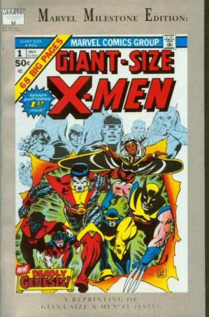 X-Men Books - Mavel Milestone Edition Giant-Size X-Men #1