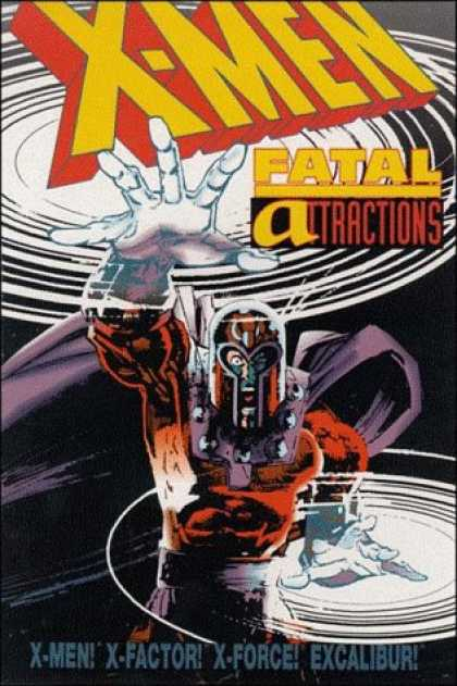 X-Men Books - X-Men: Fatal Attractions