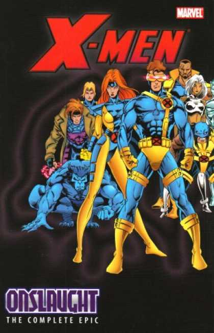 X-Men Books - X-Men: The Complete Onslaught Epic Volume 4 TPB (X-Men (Graphic Novels)) (v. 4)