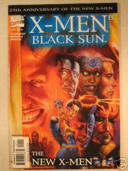 X-Men Books - X-Men: Black Sun #1 (The New X-Men)