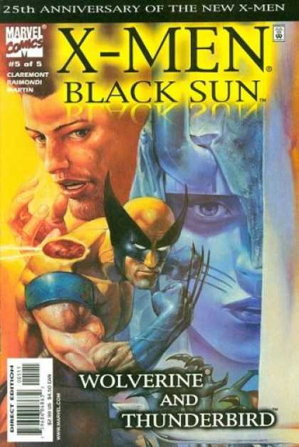 X-Men Books - X-Men: Black Sun #5 (Wolverine And Thunderbird)