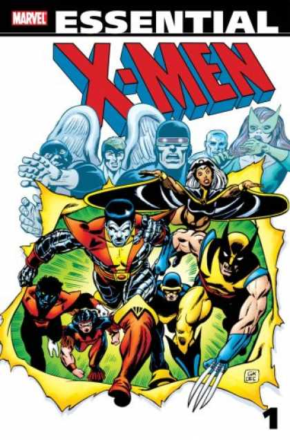 X-Men Books - Essential X-Men Volume 1 (All-New Edition) (X-Men (Graphic Novels))