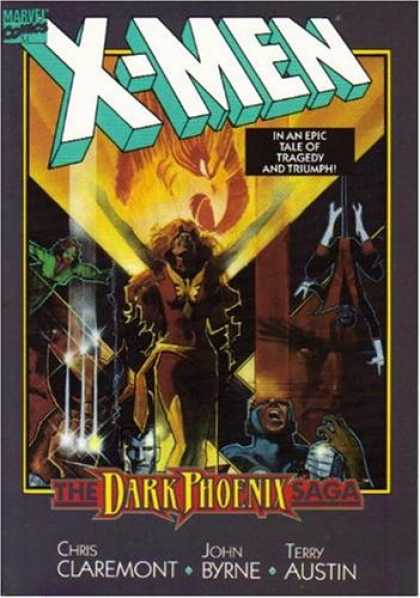 X-Men Books - The Uncanny X-Men: The Dark Phoenix Saga (TPB; 1991)
