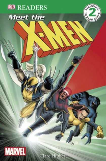 X-Men Books - Meet the X-Men (DK READERS)