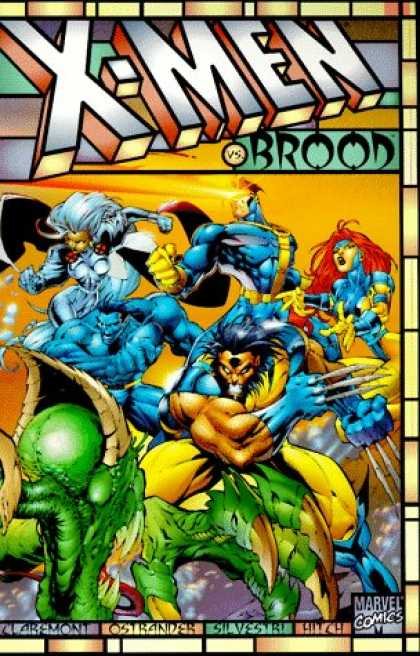 X-Men Books - X-Men Vs. the Brood - Day of Wrath