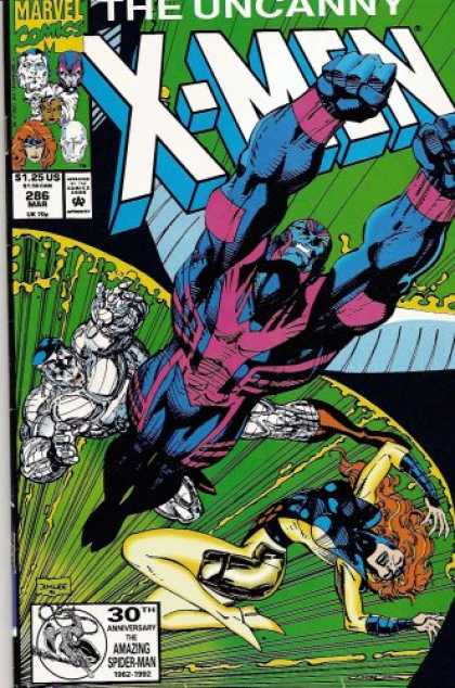 X-Men Books - Uncanny X-men 286 (vol 1)