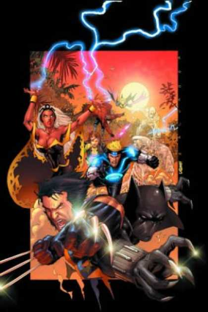 X-Men Books - X-Men/Black Panther: Wild Kingdom