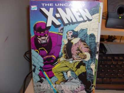X-Men Books - the uncanny x-men - days of future past