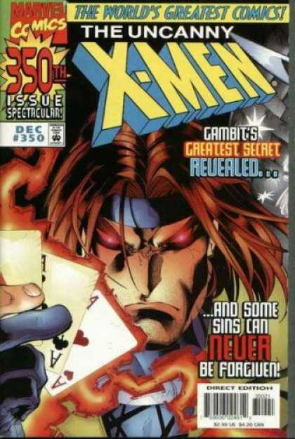 X-Men Books - The Uncanny X-Men #350 (CVR-$2.99) (Vol. 1)