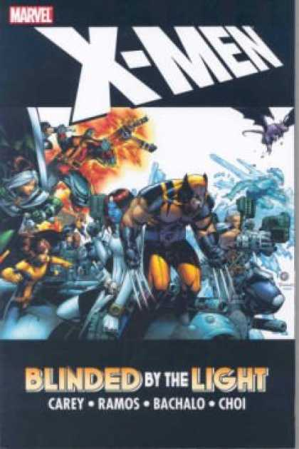 X-Men Books - X-Men: Blinded by the Light