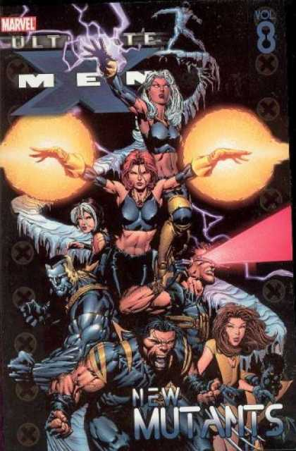X-Men Books - Ultimate X-Men Vol. 8: New Mutants