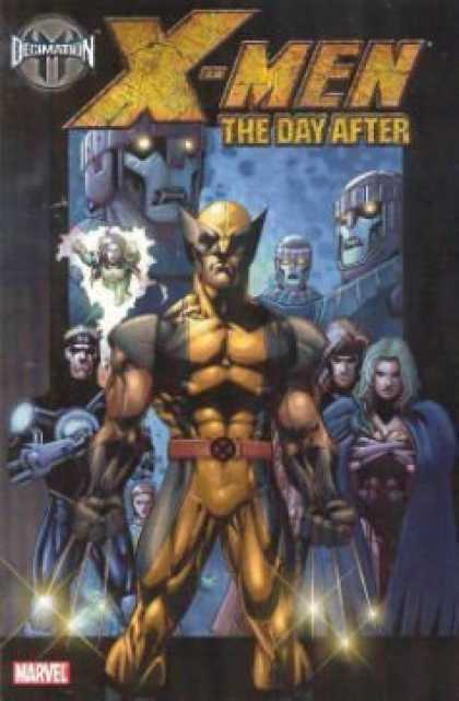 X-Men Books - Decimation: X-Men - The Day After (House of M)