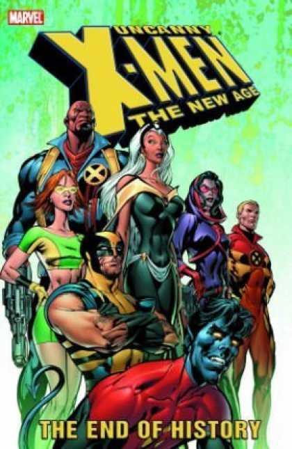 X-Men Books - Uncanny X-Men - The New Age Vol. 1: The End of History