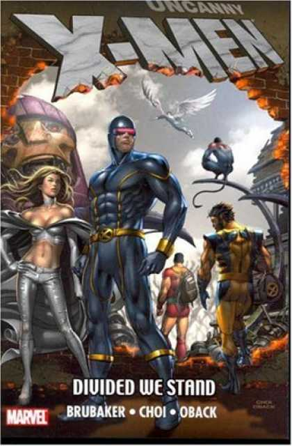 X-Men Books - Uncanny X-Men: Divided We Stand