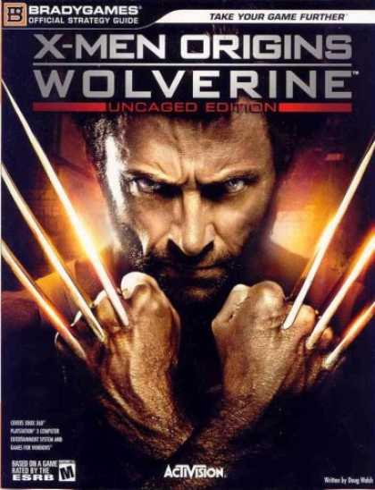 X-Men Books - X-Men Origins: Wolverine Official Strategy Guide (Bradygames Strategy Guide)