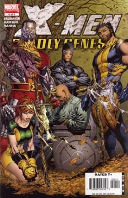 X-Men: Deadly Genesis 6 - Wolverine - Cyclopus - Professor-x - Rated - Marvel - Marc Silvestri
