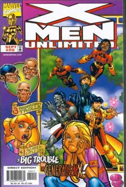 X-Men Unlimited 20 - Marvel Comics - Sept - 20 - Generation X - Scared Little Girl