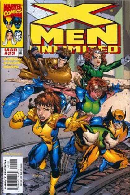 X-Men Unlimited 22 - 22 - March - Marvel - Wolverine - Unlimited - Tom Raney