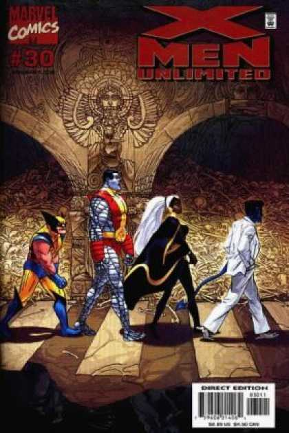 X-Men Unlimited 30 - Wolverine - Colossus - Storm - Nightcrawler - Abbey Road Album Cover - Michael Golden