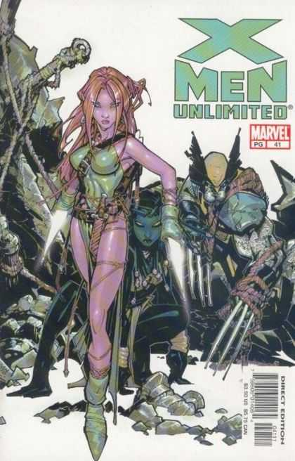 X-Men Unlimited 41 - Mutant - Marvel - Wolverine - Super-hero - Direct Edition - Chris Bachalo