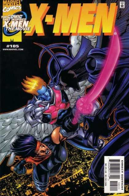 X-Men 105 - Marvel Comics - Inspired X-men The Movie - 105 - Pink Sword - Purple Armor - Leinil Yu