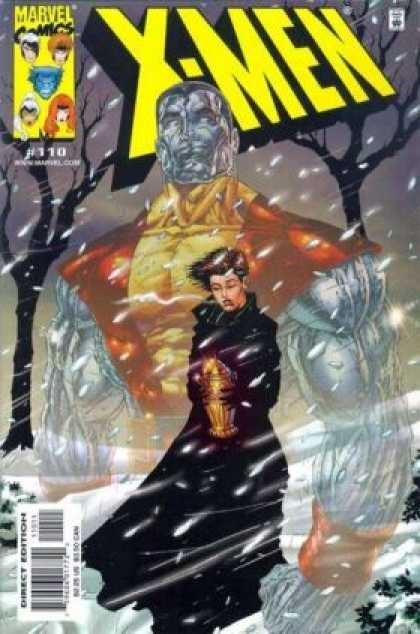 X-Men 110 - Superhuman - Lady - Gold Vessel - Snow - Withered Trees
