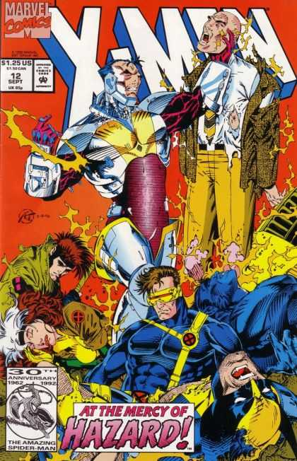 X-Men 12 - Marvel - Approved By The Comics Code Authority - 125 Us - 12 Sept - Hazard