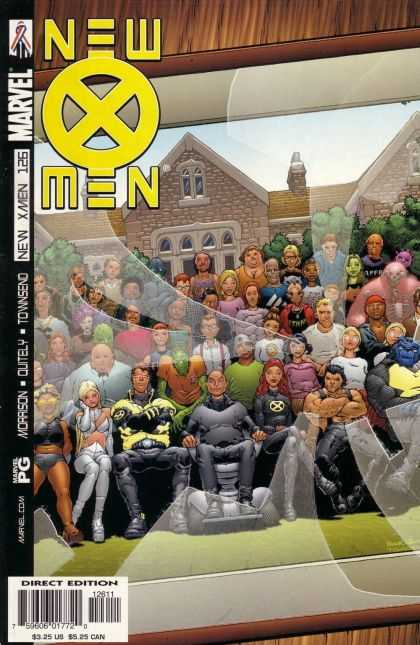 X-Men 126 - X Titles - Marvel Comics - Morrison - Large Group Image - Pg Rated
