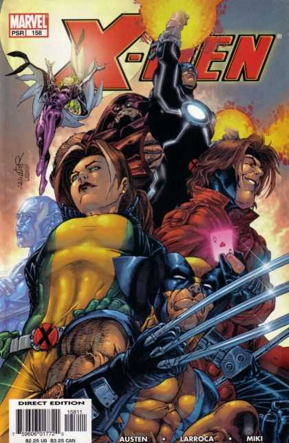 X-Men 158 - Wolverine - Ice Man - Rogue - Polaris - Gambit - Salvador Larroca