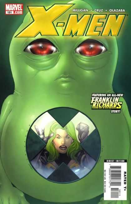 X-Men 181 - Xmen - Green - Marvel - Franklin - Richards - Salvador Larroca