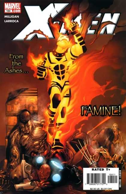 X-Men 184 - Marvelcom - Milligan - Larroca - Famine - From The Ashes - Salvador Larroca
