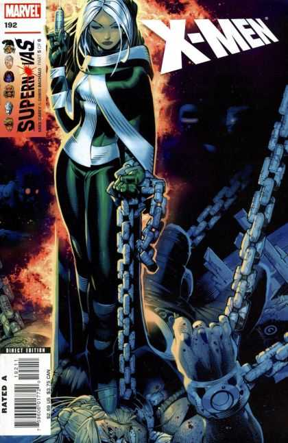 X-Men 192 - Injection - Marvel - Chains - Storm - Dominance - Chris Bachalo