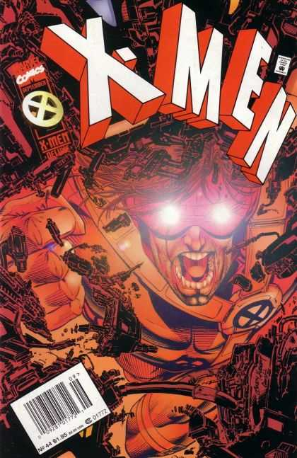 X-Men 44 - Cyclops - Seeing Red - Anger Management - Eyes Of Fury - Destruction - Andy Kubert