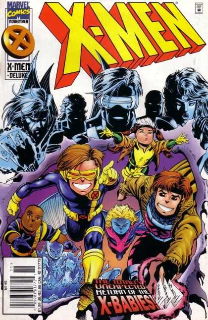 X-Men 46 - Marvel - Deluxe - Unexpected - Return - Of The X-babies - Andy Kubert