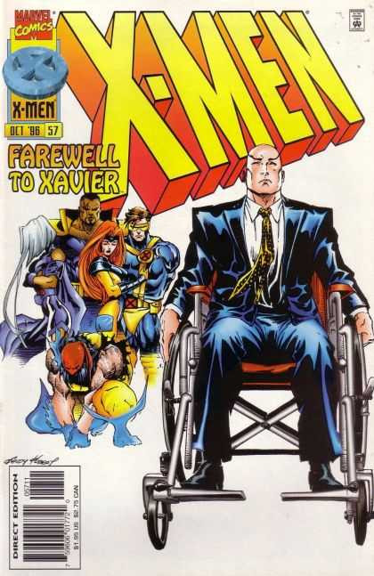 X-Men 57 - Wolverine - Rogue - Professor X - Wheelchair - Cyclops - Andy Kubert