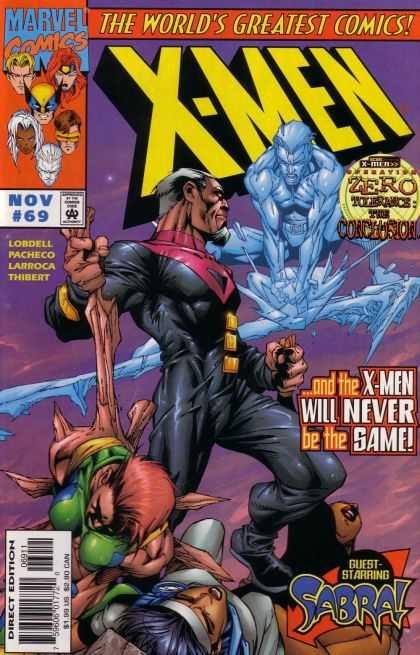 X-Men 69 - Worlds Greatest Comic - Marvel - Zero Tolerance - Conclusion - Lobdell - Carlos Pacheco