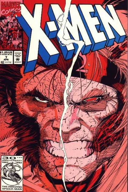 X-Men 7 - Two Faced - Wolverine Strikes Again - Split Personality - Revenge - The Demond Within - Jim Lee