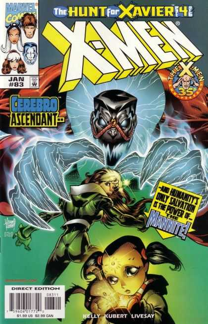 X-Men 83 - Rogue - Marvel Comics - Storm - Cerebro Ascendant - Direct Edition - Adam Kubert